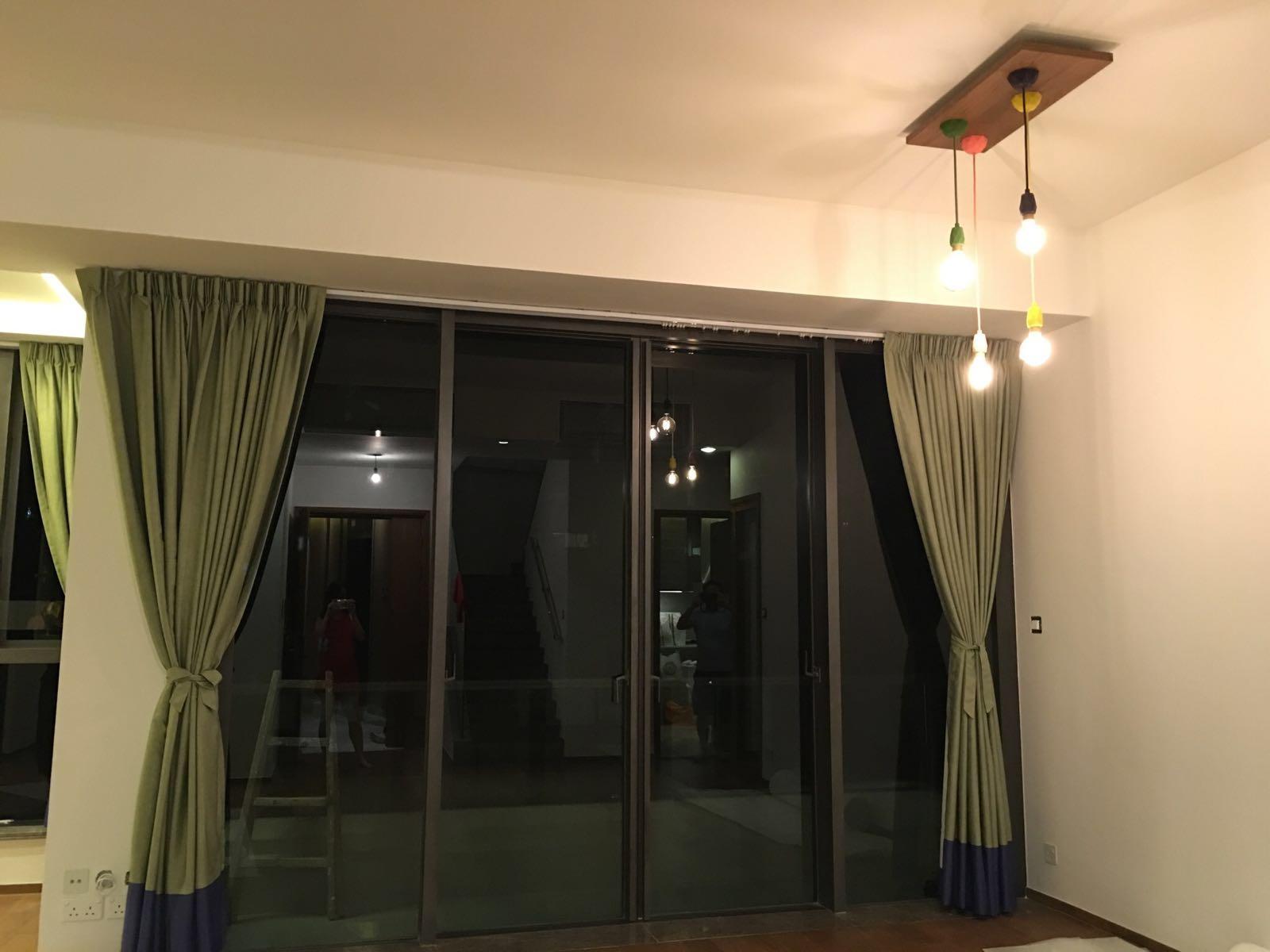雅居的 窗簾,蚊網