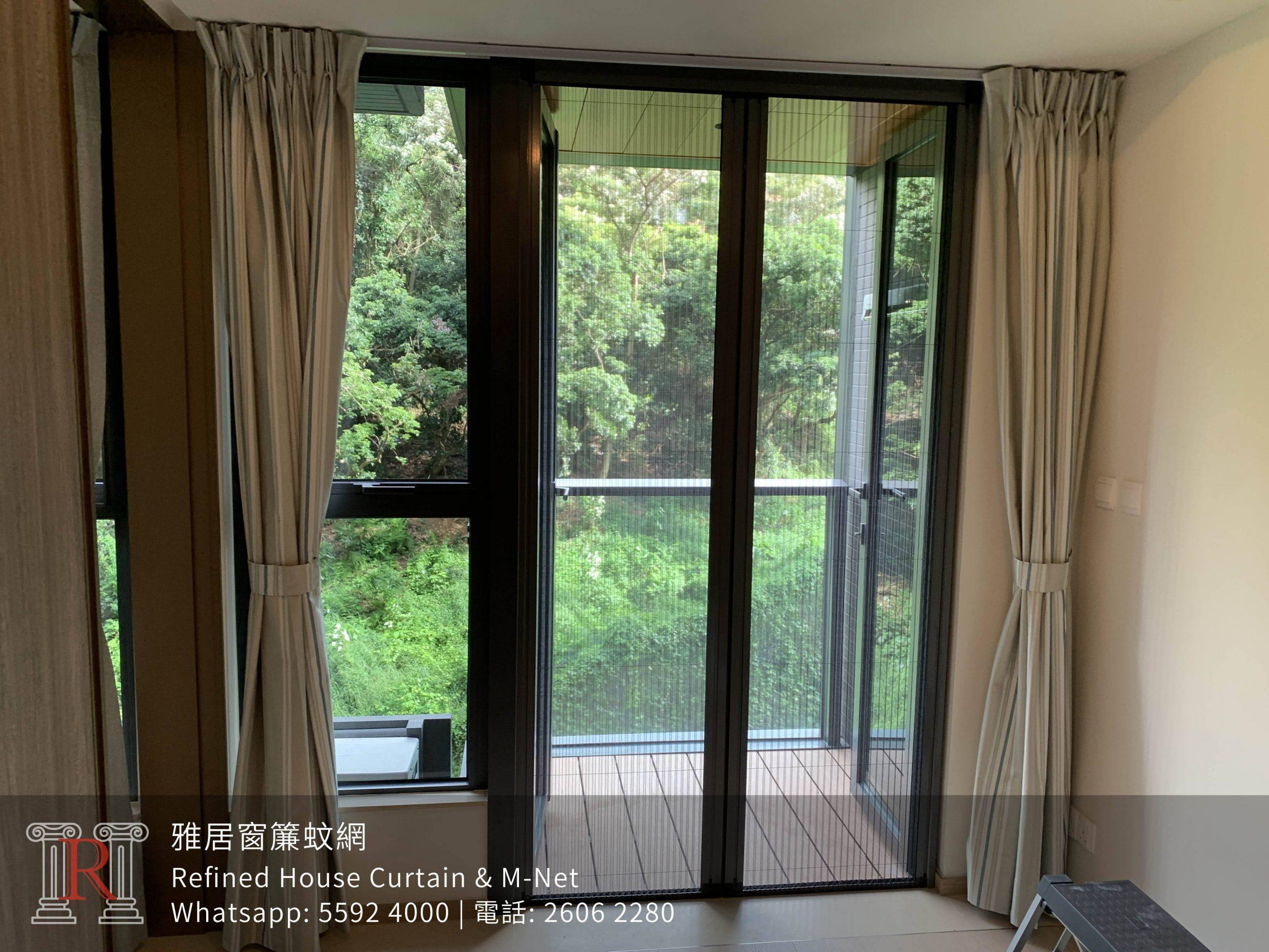 日式風琴防蚊網